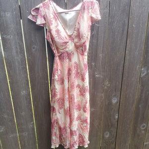 Pretty Vintage Paisley Le Belle Dress